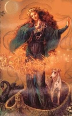 Afbeelding Godin Nehalennia - tempelbezoek