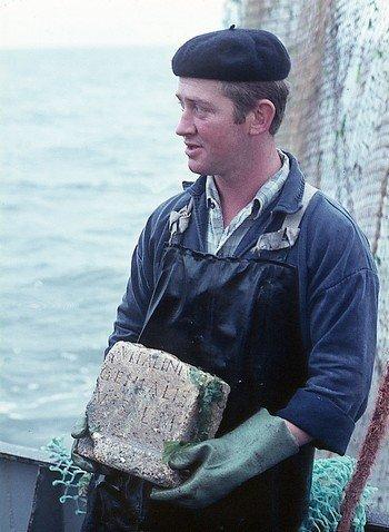 Afbeelding visser K.J. Bout - 1970